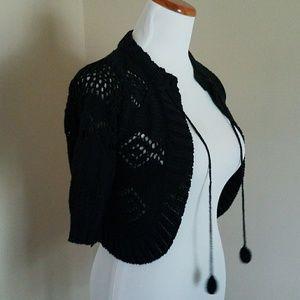 Zara cropped Bolero Sweater